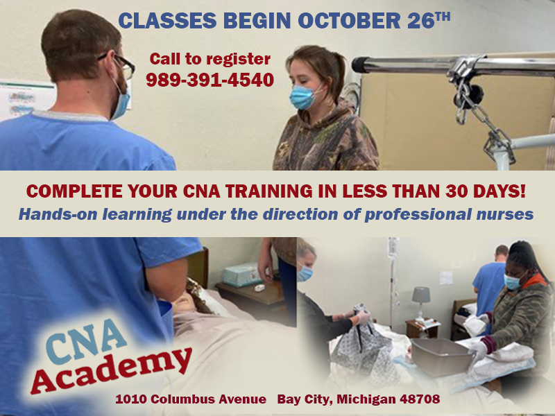 CNA ACADEMY - Hands On Learning 10-26 class