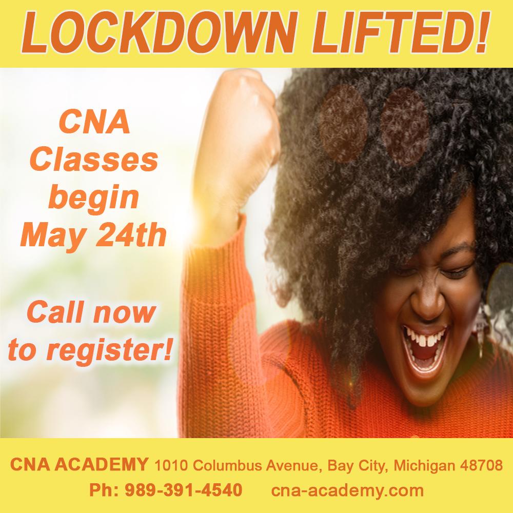 CLASSES BEGIN MAY 24